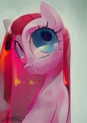Size: 1000x1417 | Tagged: safe, artist:iopichio, pinkie pie, earth pony, pony, female, mare, photoshop, pinkamena diane pie, solo