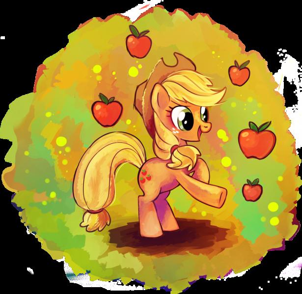 драгоценные картинки пони эпл джек радужная него можно