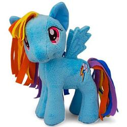 Size: 400x400 | Tagged: funrise, irl, official, photo, plushie, rainbow dash, safe