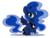 Size: 800x604 | Tagged: safe, artist:miikanism, princess luna, alicorn, pony, chibi, cute, female, lunabetes, mare, simple background, sitting, solo, tongue out, transparent background
