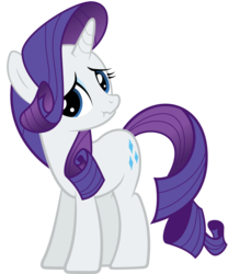 Size: 4165x5000   Tagged: safe, artist:rubez2525, rarity, absurd resolution, sad, scrunchy face, simple background, solo, transparent background, vector