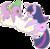 Size: 1102x1085 | Tagged: dead source, safe, artist:hoshix3, artist:ofizzy-pop, spike, twilight sparkle, dragon, pony, unicorn, cloud, cute, duo, female, male, mare, on a cloud, profile, unicorn twilight