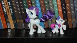 Size: 3648x2052 | Tagged: safe, rarity, blind bag, figure, france, irl, photo, quick magic box, toy