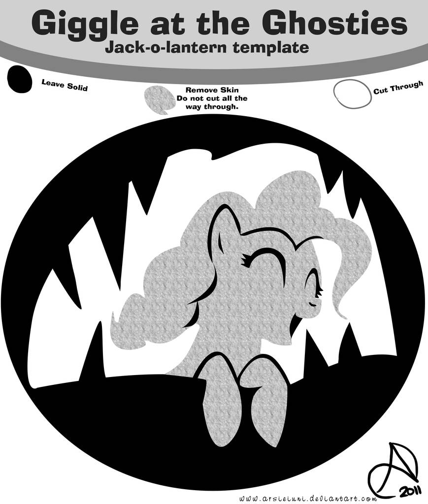 125440 Artist Arshnessdreaming Design Earth Pony Friendship Is Magic Grayscale Holiday Jack O Lantern Laughter Song Monochrome