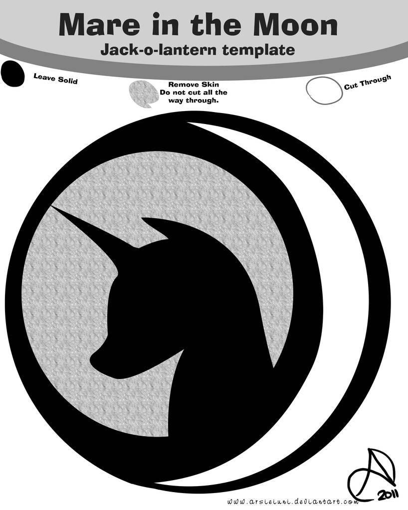 125442 Artist Arshnessdreaming Design Grayscale Holiday Jack O Lantern Mare In The Moon Monochrome Nightmare Pumpkin Carving