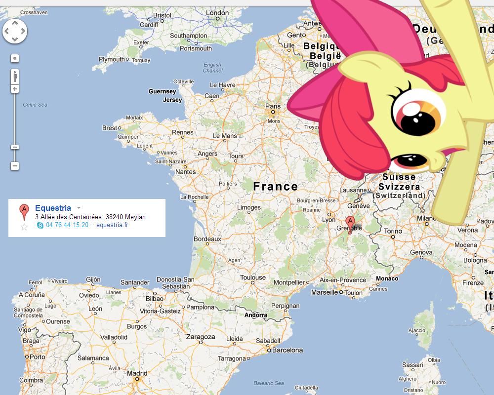 126052 - apple bloom, equestria, france, google maps, meta, safe ...