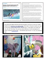 Size: 1590x2048 | Tagged: alicorn, alicorn drama, discord, keep calm and flutter on, magical mystery cure, safe, spoiler:s03, text, twilight sparkle, twilight sparkle (alicorn), wild predictions