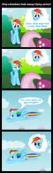 Size: 800x2606 | Tagged: safe, artist:mrbastoff, cheerilee, rainbow dash, cheeridash, comic, dreamworks face, family guy, female, flying, gay thoughts, lesbian, parody, shipping