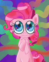 Size: 2000x2500 | Tagged: safe, artist:dustyranger, pinkie pie, earth pony, pony, high res, solo