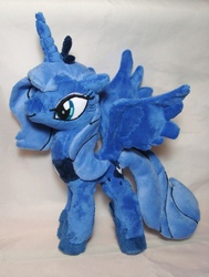 Size: 453x600 | Tagged: artist:usako-chan, irl, photo, plushie, princess luna, safe, solo