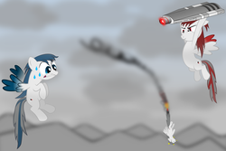 Size: 4200x2800 | Tagged: ace combat, ace combat zero, artist:geoghost, cipher, crossover, laser, pixy, pj, ponified, safe, tls