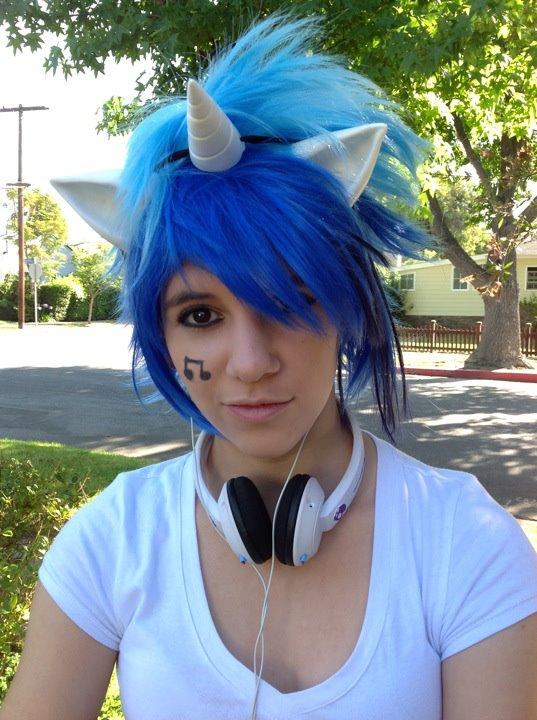 131626 Anime Expo Artist Miraigirl Cosplay Costume Dj Pon 3
