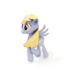 Size: 1256x1424 | Tagged: safe, artist:kna, cloud kicker, pony, papercraft, photo