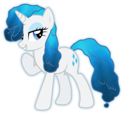 Size: 5176x4818 | Tagged: absurd resolution, artist:jennieoo, elemental, element of water, female, mane 6 elementals, mare, original species, pony, rarity, safe, simple background, transparent background, unicorn, vector, water, water elemental, water mane, water pony