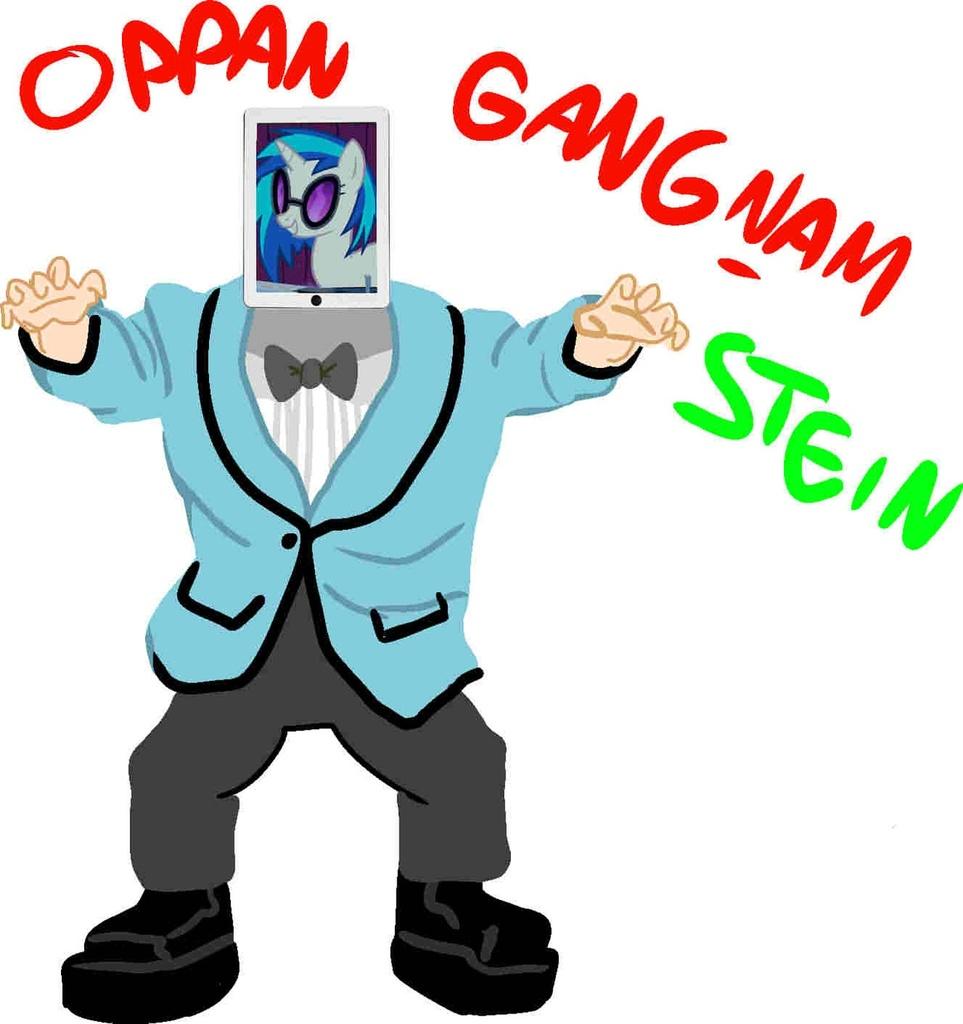 134394 30 Minute Art Challenge Artist Needed Dj Pon 3 Gangnam Style Ipad Safe South Park Vinyl Scratch Derpibooru