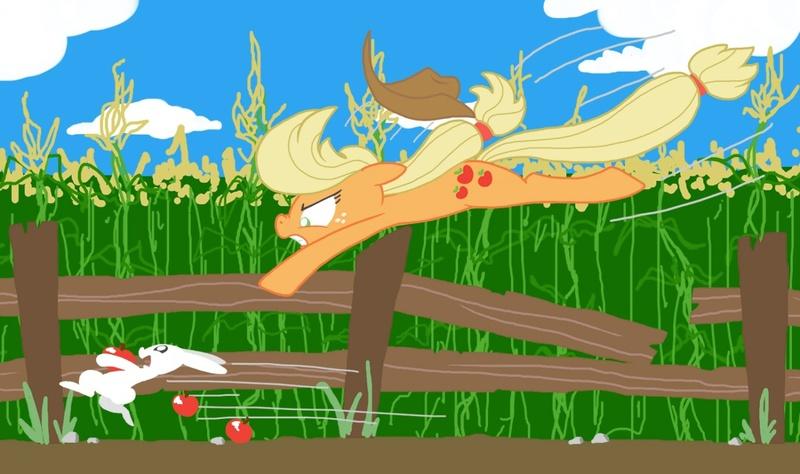 Applejack rabbit