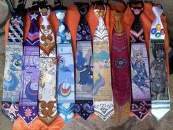Size: 1600x1200 | Tagged: safe, artist:raptor007, derpy hooves, dj pon-3, princess celestia, princess luna, rainbow dash, twilight sparkle, vinyl scratch, pegasus, pony, custom, female, furry, irl, iron man, mare, merchandise, necktie, photo, xbox
