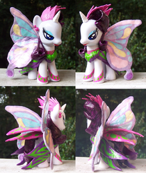 Size: 1000x1188 | Tagged: artist:yfish, custom, glimmer wings, irl, photo, rarity, safe, sonic rainboom (episode)