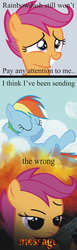 Size: 600x1951 | Tagged: artist:dethlunchies, rainbow dash, safe, scootaloo