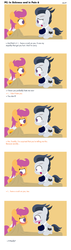 Size: 1640x5775 | Tagged: artist:dtcx97, bandage, blushing, cast, female, hospital, injured, male, post-crusade, rumble, rumbloo, safe, scootaloo, shipping, sling, stitches, straight