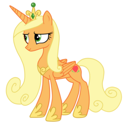 Size: 894x894 | Tagged: adventure in the comments, alicorn, alicornified, applecorn, applejack, artist:andreamelody, princess cadance, race swap, recolor, safe