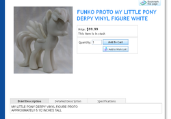 Size: 764x532 | Tagged: safe, derpy hooves, pony, figure, funko, irl, official, photo, prototype, solo, toy