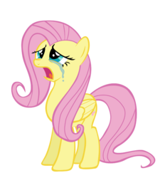 Size: 861x929 | Tagged: safe, artist:kuren247, fluttershy, pegasus, pony, hurricane fluttershy, crying, female, open mouth, simple background, solo, transparent background, vector