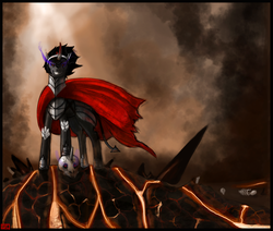Size: 1836x1558 | Tagged: artist:kaisercvr, king sombra, safe, the crystal empire