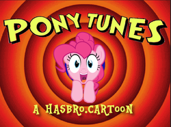 Size: 700x522 | Tagged: artist:kuren247, cartoon, logo, looney tunes, merrie melodies, parody, pinkie pie, safe