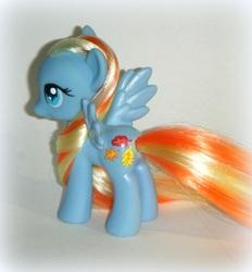 Size: 702x757 | Tagged: safe, artist:kalavista, autumn skye, pony, custom, g3, g3 to g4, generation leap, irl, photo, solo, toy