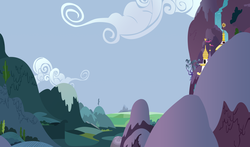 Size: 5100x3000 | Tagged: safe, artist:spinnyhat, background, canterlot, vector