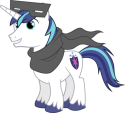 Size: 6632x6000 | Tagged: safe, artist:chalcedonian, shining armor, the crystal empire, .svg available, absurd resolution, clothes, mask, scarf, simple background, snow goggles, solo, transparent background, vector