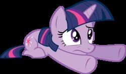 Size: 3884x2292 | Tagged: safe, artist:felix-kot, twilight sparkle, pony, unicorn, confused, female, simple background, solo, transparent background, unicorn twilight, vector