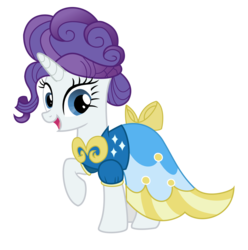 Size: 990x1000 | Tagged: safe, artist:clawzipan, rarity, alternate hairstyle, clothes, dress, happy, simple background, smiling, solo, transparent background, vector