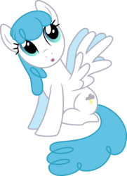 Size: 5000x6916 | Tagged: safe, artist:silvervectors, lightning bolt, white lightning, pegasus, pony, absurd resolution, background pony, female, looking up, mare, simple background, solo, transparent background, vector