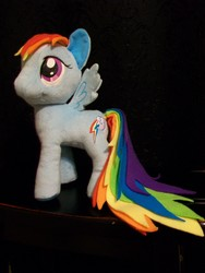 Size: 2748x3664 | Tagged: custom, female, funrise, irl, mare, mod, pegasus, photo, plushie, pony, rainbow dash, safe, solo
