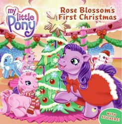 Size: 490x500 | Tagged: book, christmas, g3, official, rose blossom, rose blossom's first christmas, safe