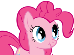 Size: 1600x1192   Tagged: safe, artist:koeper, pinkie pie, scrunchy face, simple background, transparent background, vector