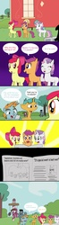 Size: 3309x12619 | Tagged: safe, artist:helsaabi, apple bloom, scootaloo, snails, snips, sweetie belle, comic, cutie mark crusaders, ponified, the fairly oddparents