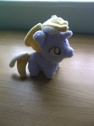Size: 900x1200 | Tagged: artist:hanakoneko, dinky hooves, irl, photo, plushie, safe, solo