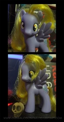 Size: 627x1200 | Tagged: artist:vixen8387, brushable, custom, derpy hooves, photo, pony, safe, solo, toy