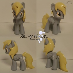 Size: 2400x2400 | Tagged: artist:shearx, brushable, custom, derpy hooves, photo, pony, safe, solo, toy