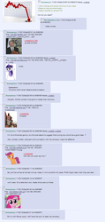Size: 616x1298   Tagged: safe, pinkie pie, twilight sparkle, the crystal empire, /mlp/, 4chan, discussion, hasbro, ratings, text
