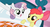 Size: 848x464 | Tagged: apple bloom, bed, duo, hush now quiet now, long neck, long pony, safe, screencap, stare master, stretch, sweetie belle, sweetie giraffe