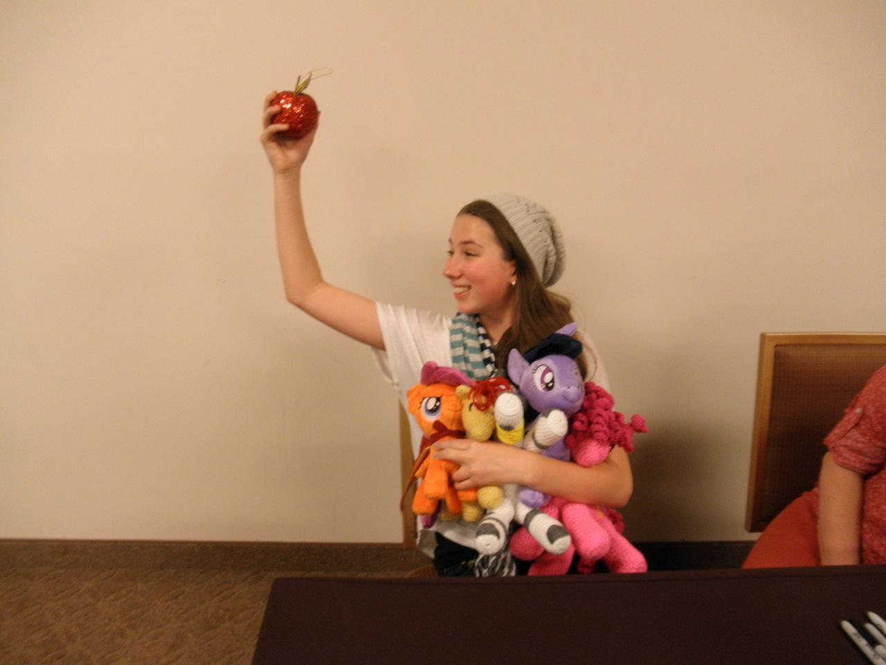 144541 Apple Apple Bloom Equestria La Irl Michelle Creber