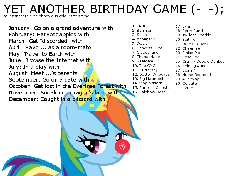 144705 birthday game exploitable meme meme rainbow dash safe