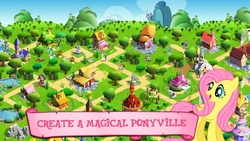 Size: 480x270 | Tagged: safe, fluttershy, pony, female, game, gameloft, link, mare, release