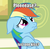 Size: 445x432 | Tagged: safe, edit, edited screencap, screencap, rainbow dash, read it and weep, bronybait, cropped, floppy ears, image macro, implied kissing, nose wrinkle, pouting, sad, solo