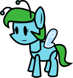 Size: 337x358 | Tagged: artist:sonic-chaos, flutter pony, g1, paper mario, paper pony, parody, safe, simple background, transparent background