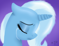 Size: 1090x850 | Tagged: safe, artist:wolf-spirit99, trixie, crying, sad